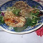 recette galette poulet,,poudre tandoori