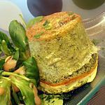 recette petit soufflé aux feuilles de blettes et chavroux