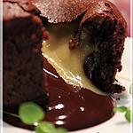 recette ~Fondant au chocolat à la Dijon~