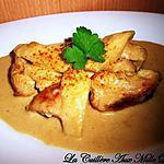 recette Poulet coco, curry & pomme