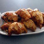 """recette """" Croissants feuilletés pour l'apéro....""""..."""