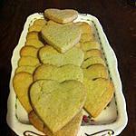 recette Sablés en coeur (Vahiné)