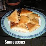 recette Samoussas Crabe & thon