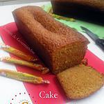 recette Cake aux carambars au nougat