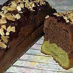 recette Cake chocolat thé matcha