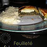 recette Feuilletés épinards & chèvre