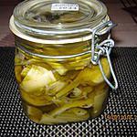 recette Artichauds sous huile