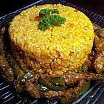 recette boulgour a la turque avec aiguilette de biftek poivron