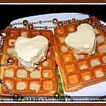 recette Glace crémeuse aux chocolats blancs