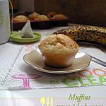 recette Muffins coeur à la banane allégés
