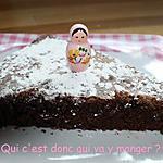 recette Gâteau express au chocolat sans gluten et sans lactose