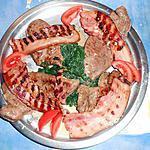 foies de veau aux lards et épinard
