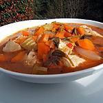 recette Soupe de poulet au paprika