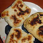 recette naans farcis au thon