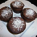 recette Muffins chocolat noir & cranberries