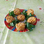 recette Petits flans au thon à la tomate et au chou fleur.