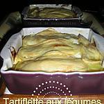 recette Tartiflette végétarienne au moines