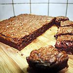 recette Brownies au beurre de cacahuètes