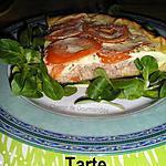 recette Tarte au thon & tomates