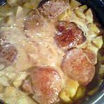 recette filet mignon de porc sucré/salé et ses pommes caramelisées