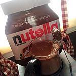recette Nutella chaud
