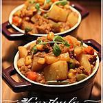 recette ~Curry de porc et de pommes de terre~