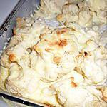 recette gratin de choux-fleur au gouda