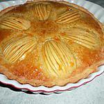 recette Flan aux pommes et aux amandes