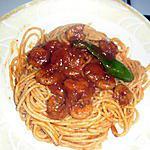 recette sbaguetti aux crevette (a la tunisienne)