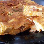 recette tortilla au chorizo