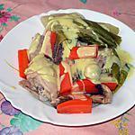 recette Poulet sauce crémeuse