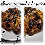 recette ailes de poulet laquées
