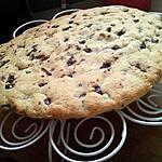 Gateau comme un cookie géant