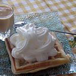 recette gauffres   a la créme  de mamy loula par hanor