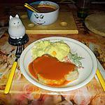 recette côtelettes de porc  sauce tomate
