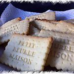 recette Petits sablés maison (avec ou sans Nutella)
