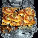 recette mini pizza aux crevettes (thon)