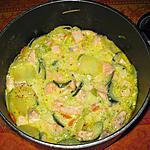 recette Cocotte de saumon aux légumes
