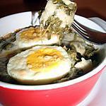 recette Oeufs durs gratinés à la florentine