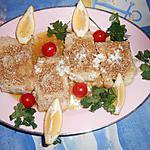 recette Pavé de cabillaud pané aux graines de sésame
