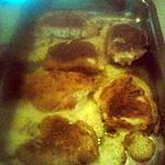 recette Escalope panée, jambon blanc emmental et béchamel