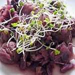 recette Chou rouge aux chataîgnes, pommes et vin rouge
