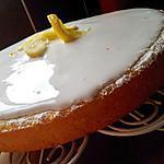 Moelleux au citron et son glaçage fondant au citron