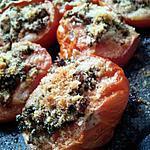 Tomates à la provençale et au parmesan