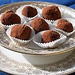 """recette """"truffes"""" tout choco"""