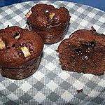 recette muffins chocolat et poire