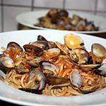 recette Spaghettoni aux vongoles