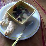 recette gratin aux kiwis  et framboises