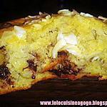 recette Muffins Banane-pépites de Chocolat