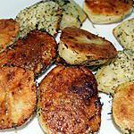 recette Pommes de terre roties au micro onde